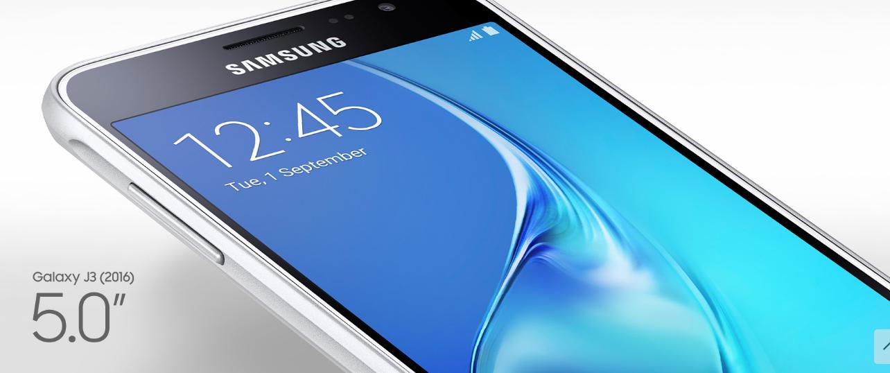 Samsung Galaxy J3 2016: Scheda tecnica, prezzo e caratteristiche
