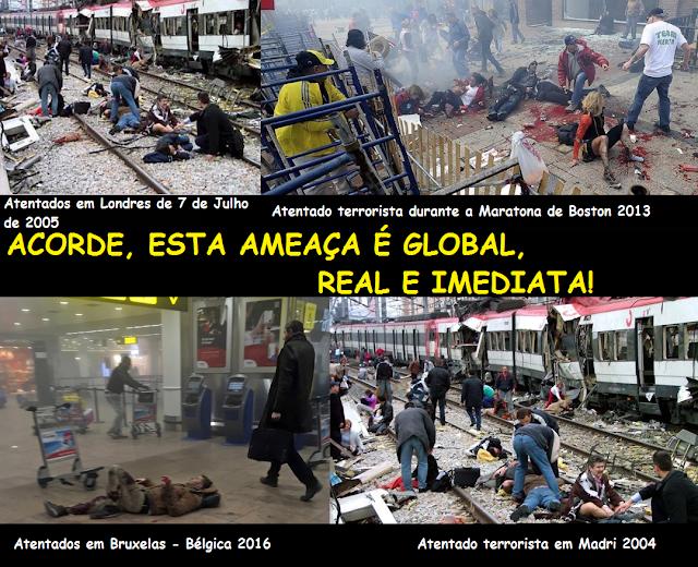 Terrorismo – Ameaças assimétricas – Ciclo de estudos no Rio de Janeiro