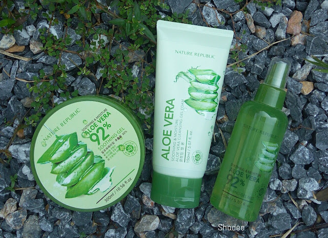 Nature Republic Aloe Vera Range Review