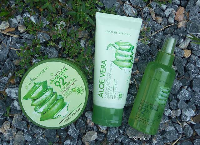 Nature Republic Aloe Vera Range Review