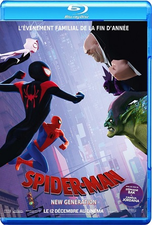 Spider-Man Into the Spider-Verse 2018 BRRip BluRay 720p 1080p