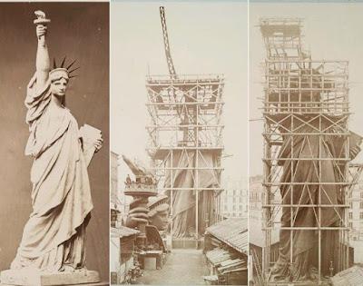 Ensamblaje de la Estatua de la Libertad