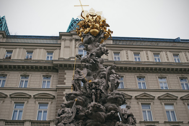 The Plague Memorial, Vienna