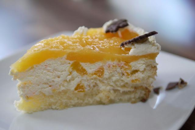 Pfirsich-Maracuja-Torte | Backen | Kuchen | Torte | Rezept