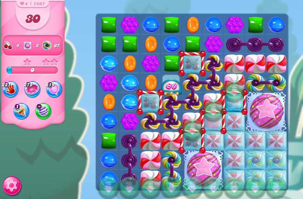 Candy Crush Saga level 7567