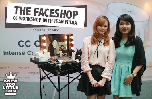 CC Everyday Make Up Workshop with The Face Shop & Jean Milka