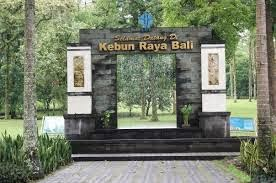 welcome kebun raya bedugul