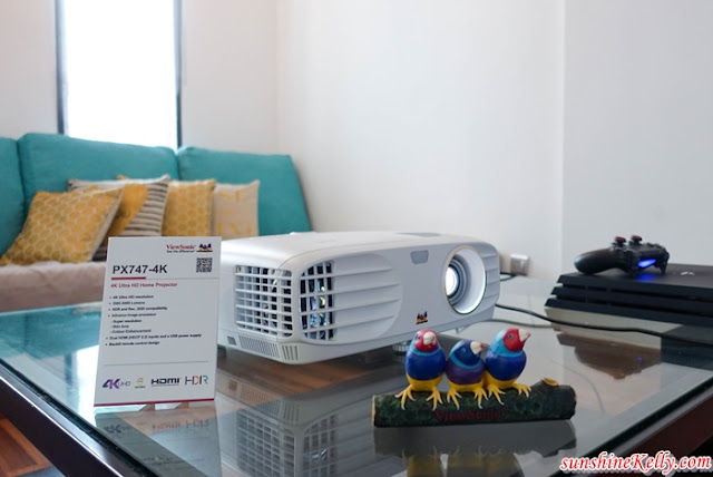 ViewSonic, ViewSonic M1 Ultra-Portable LED Projector, entertainment on the go, ViewSonic PX747-4K UHD projector, ViewSonic Malaysia, ViewSonic Projector