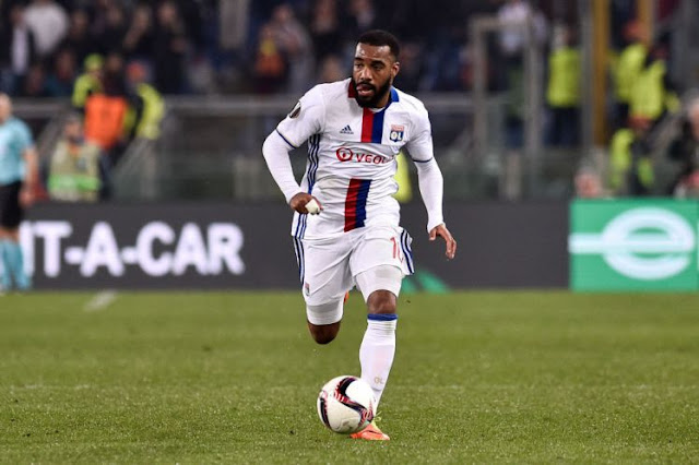 Alexandre Lacazette To Become A Gunner?