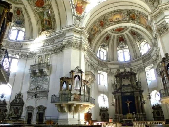 Salzburgo-Áustria-Catedral