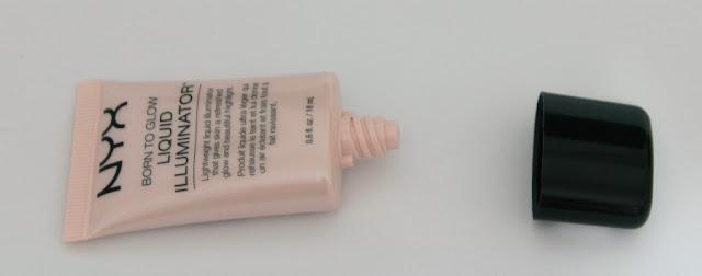 Iluminador líquido Born To Glow de Nyx