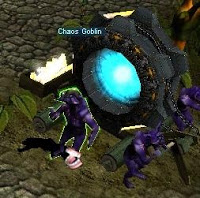 Chế tạo cánh cấp 3 tại Noria NPC Chaos Gobin