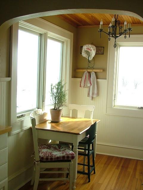 Estilo rustico pequenas mesitas de cocina - Mesas de cocina rusticas ...