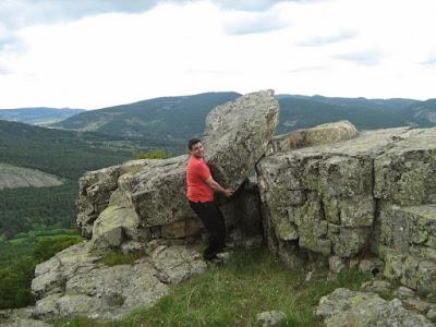 Eixecacódols, haciendo escuela, Moncho, pedrolo, piedra, roca