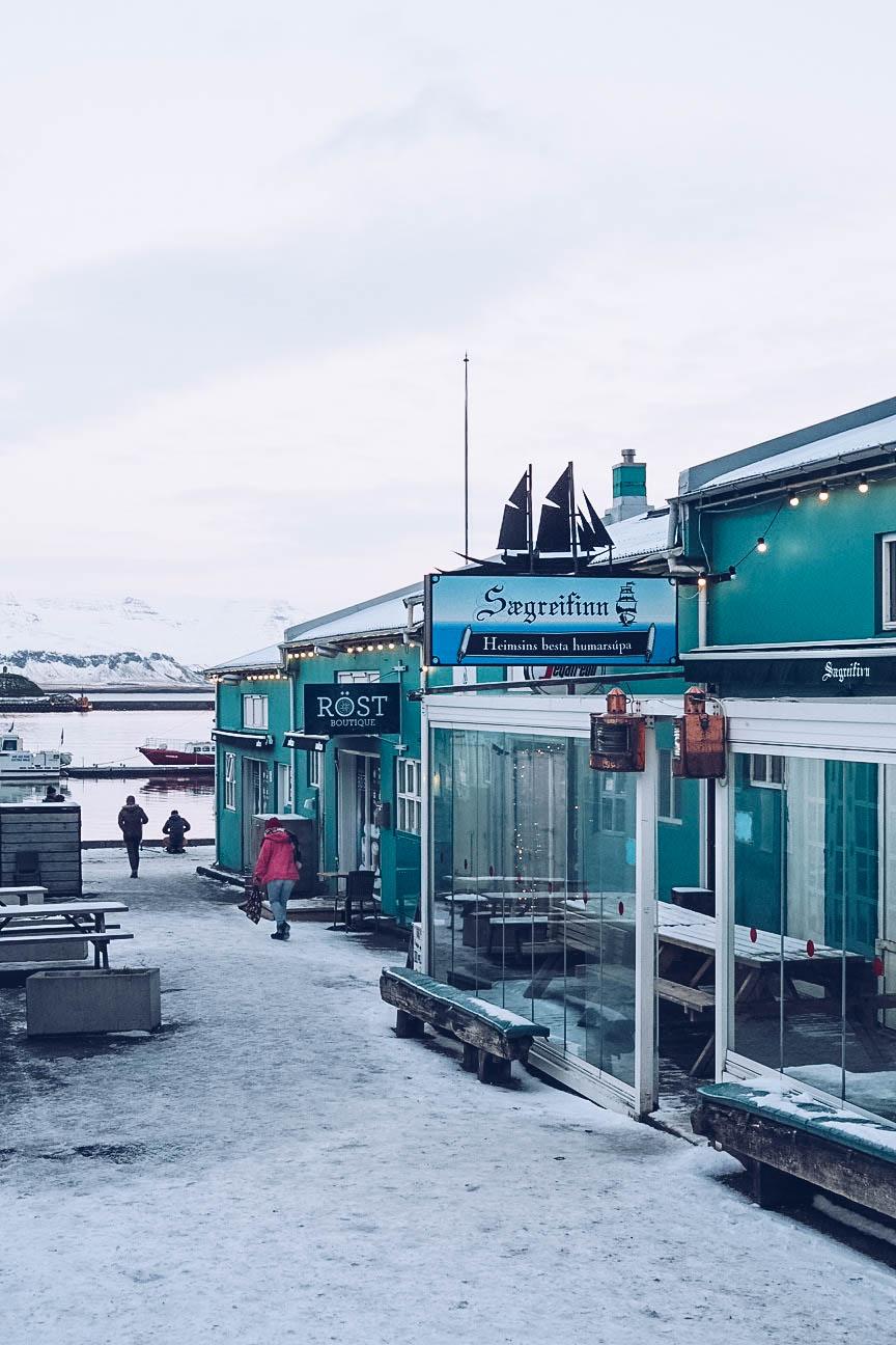 Sægreifinn restaurant in Reykjavik