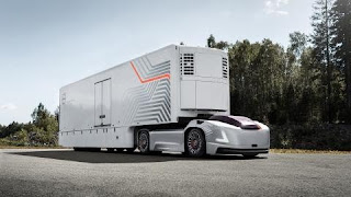 Volvo's self-driving truck