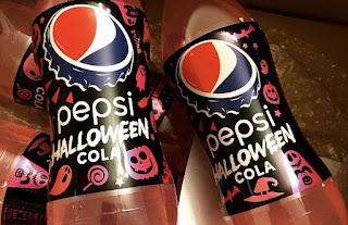 Pepsi Halloween Cola, softdrinks