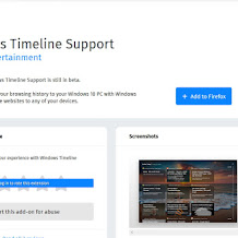 Feature Windows Timeline dan Continue Browsing Tersedia Untuk Google Chrome, Firefox dan Vivaldi Browser