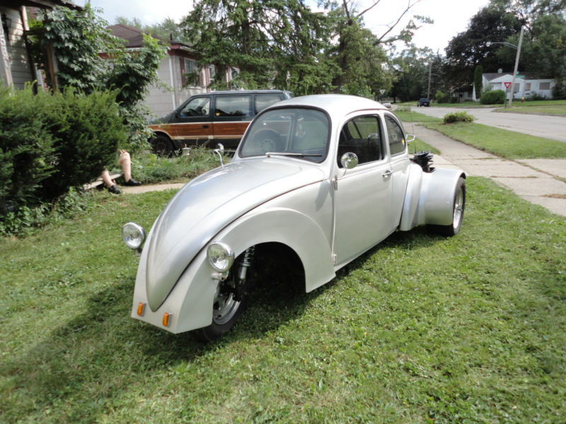 Daily Turismo  5k  Riddler   1965 VW Trike Car   Something  It s really hard to know where to begin when describing this   car   trike   thing   Some of it started out as a 1965 VW Beetle  other bits were take from a