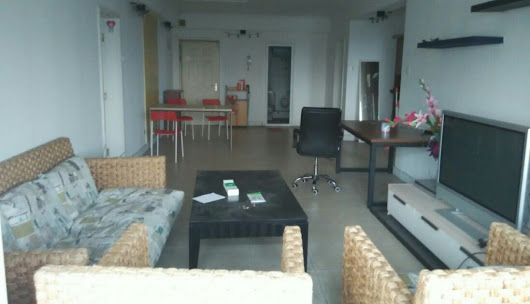 3bedrooms with 2bathroom apartment available now .big living room, good kitchen. welcome contact me for visit it.