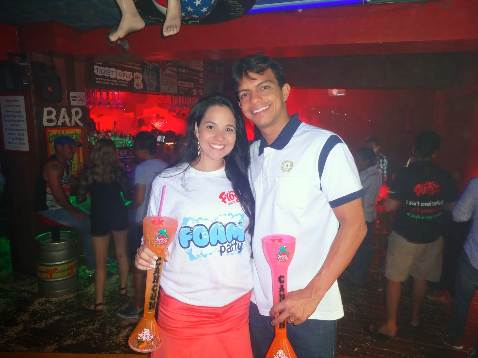 foam party senor frogs cancun