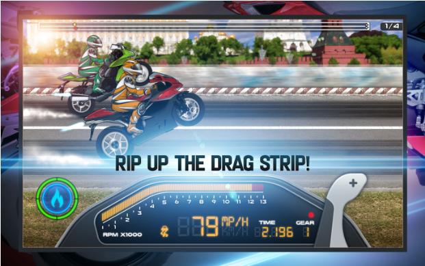 Drag Racing: Bike Edition Mod Apk