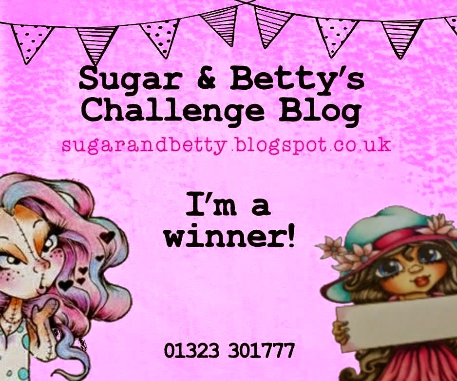 Sugar & Betty Winner - March 2015 Challenge