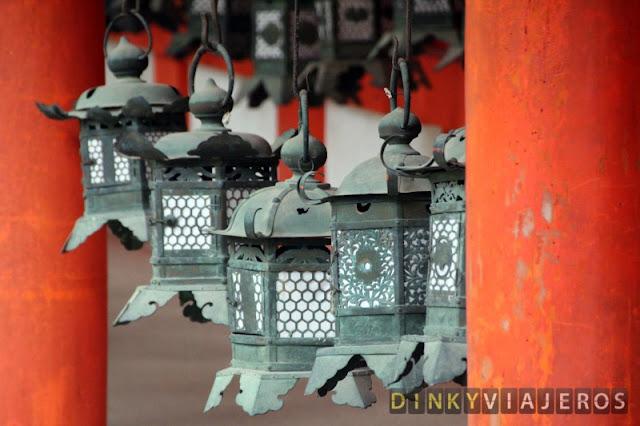 Farolillos del santuario Kasuga-taisha