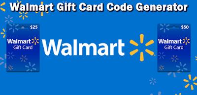 Walmart Gift Card Code Generator