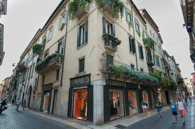 Calles Verona Italia viaje turismo encanto