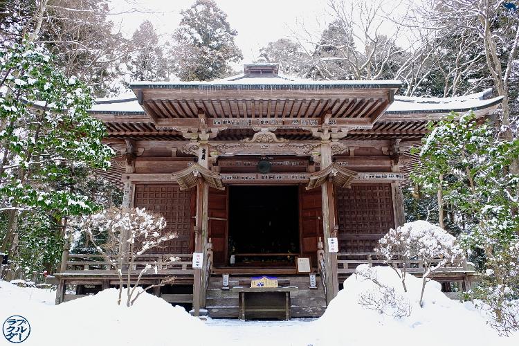 Le Chameau Bleu - Balade a Chuson Ji dans la ville d'Hiraizumi - Voyage au Japon dans le Tohoku