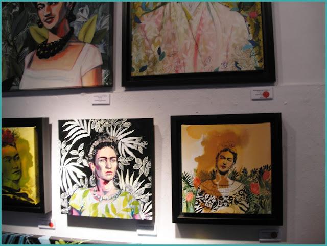 Galerie l'Artiste Hommage Frida Kahlo peintre