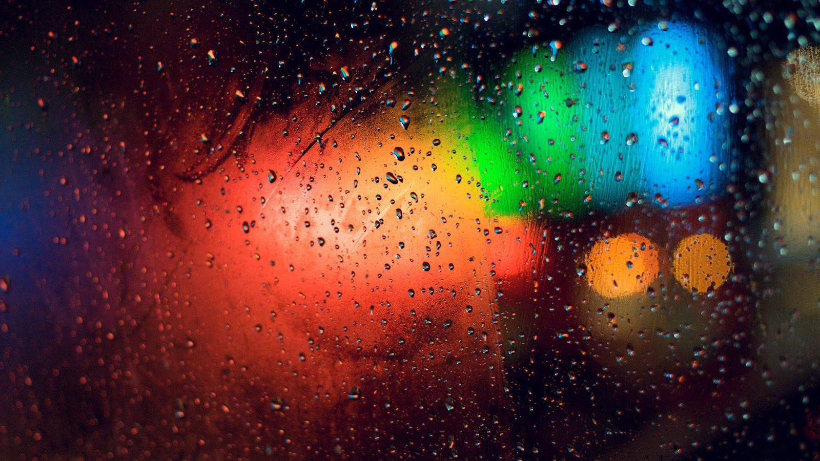 rainy night wallpapers background - photo #15