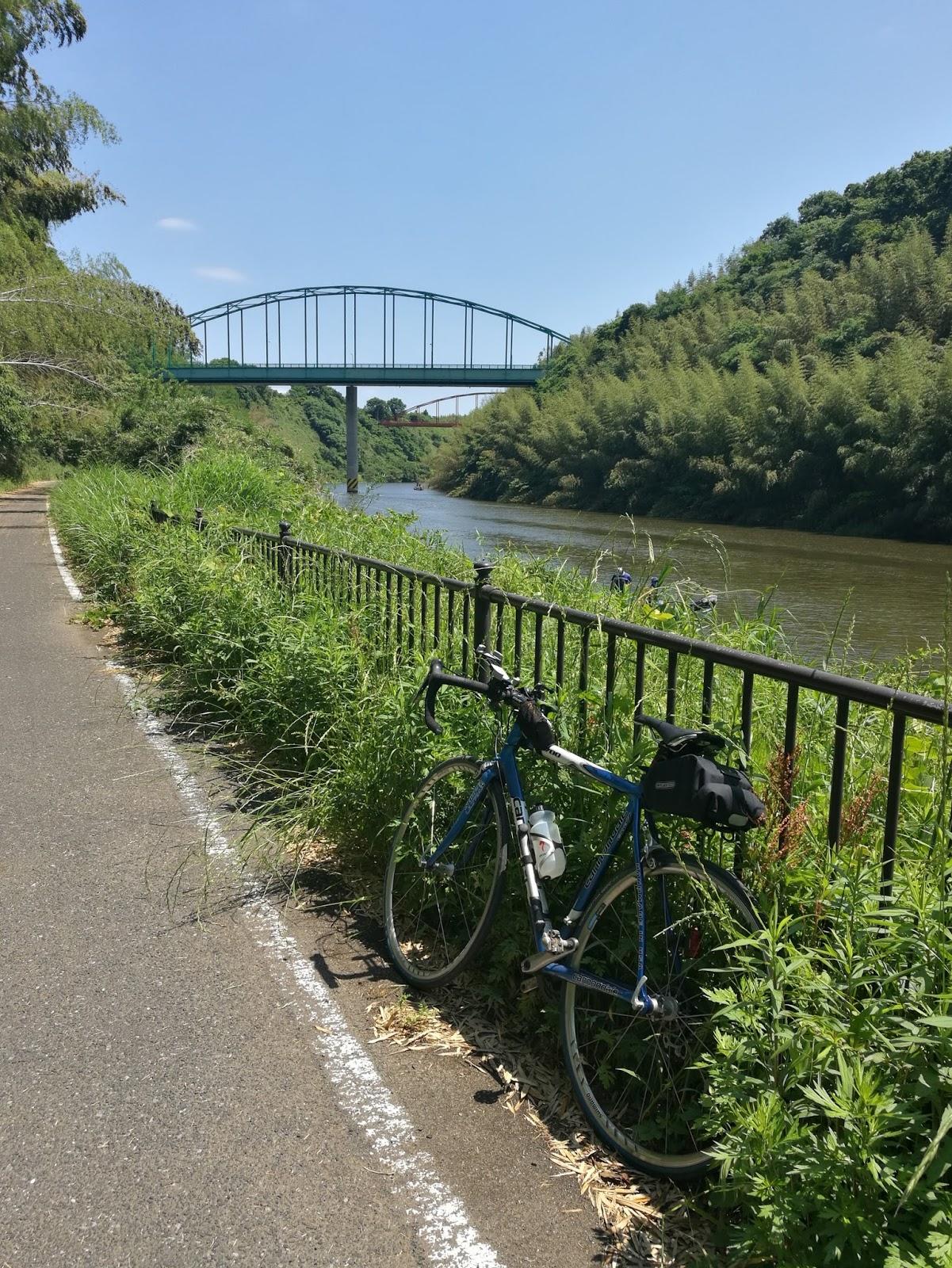 キャノンデールの房総サイクリング: 久しぶりの利根川ライド ...