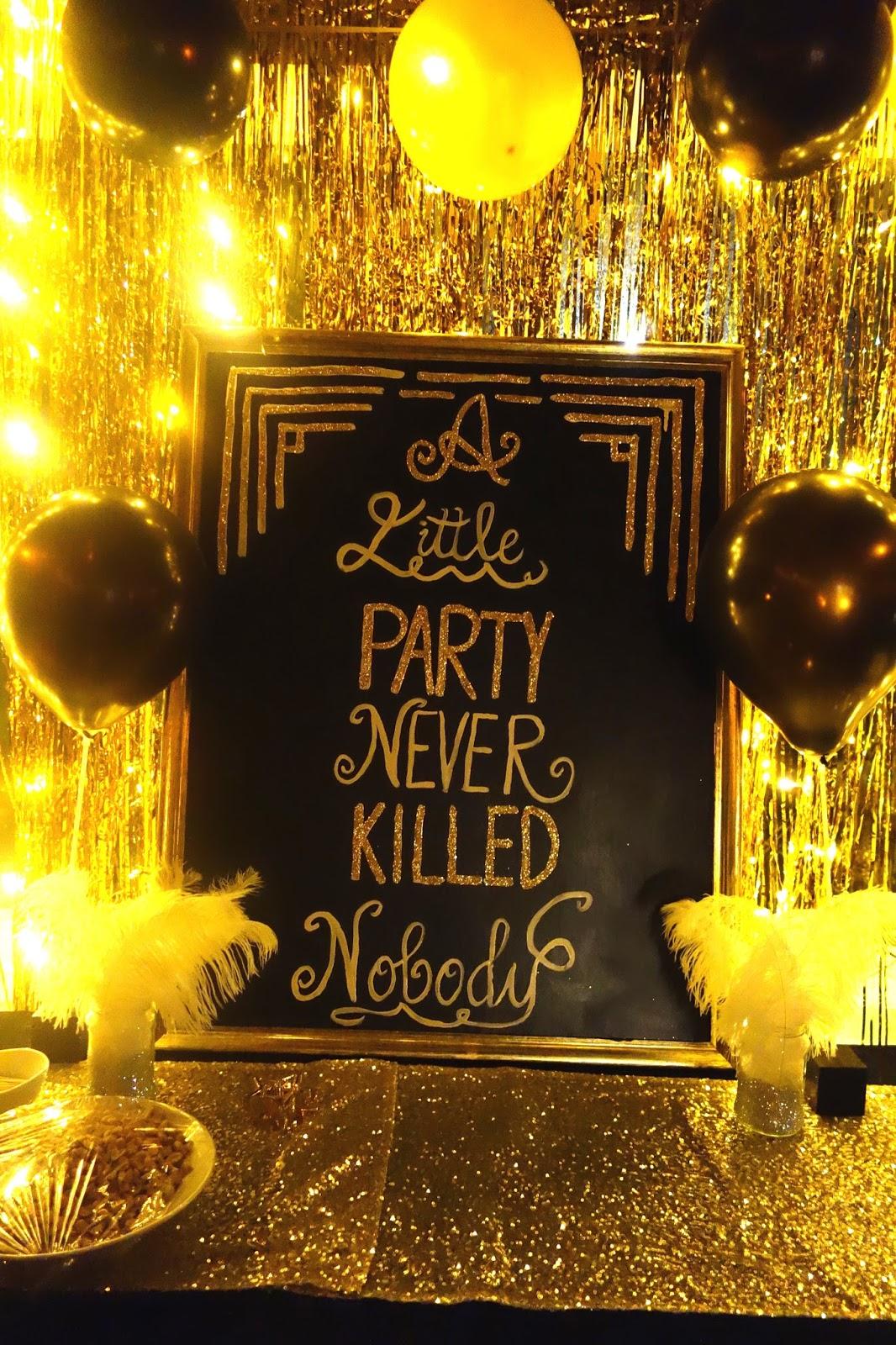 fd56a40f0f03 Mona Goldielocks: 3 x 30-årsfest med Great Gatsby tema