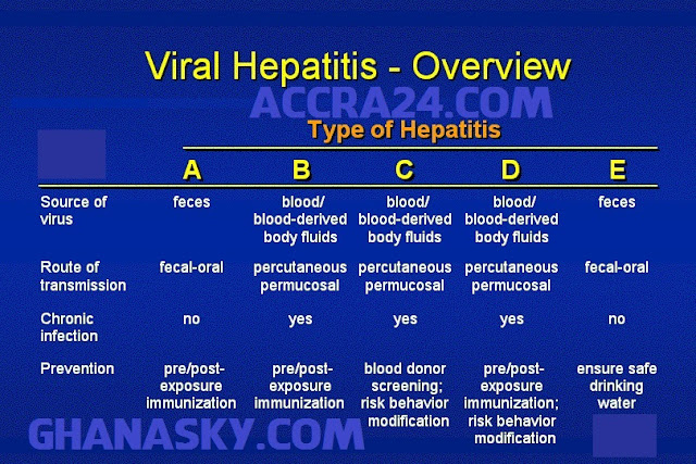 Hepatitis A, Hepatitis B, and Hepatitis C Overview