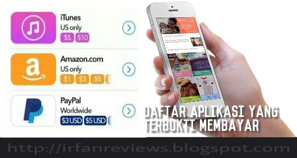 Aplikasi yang membayar kita, aplikasi yant terbukti membayar