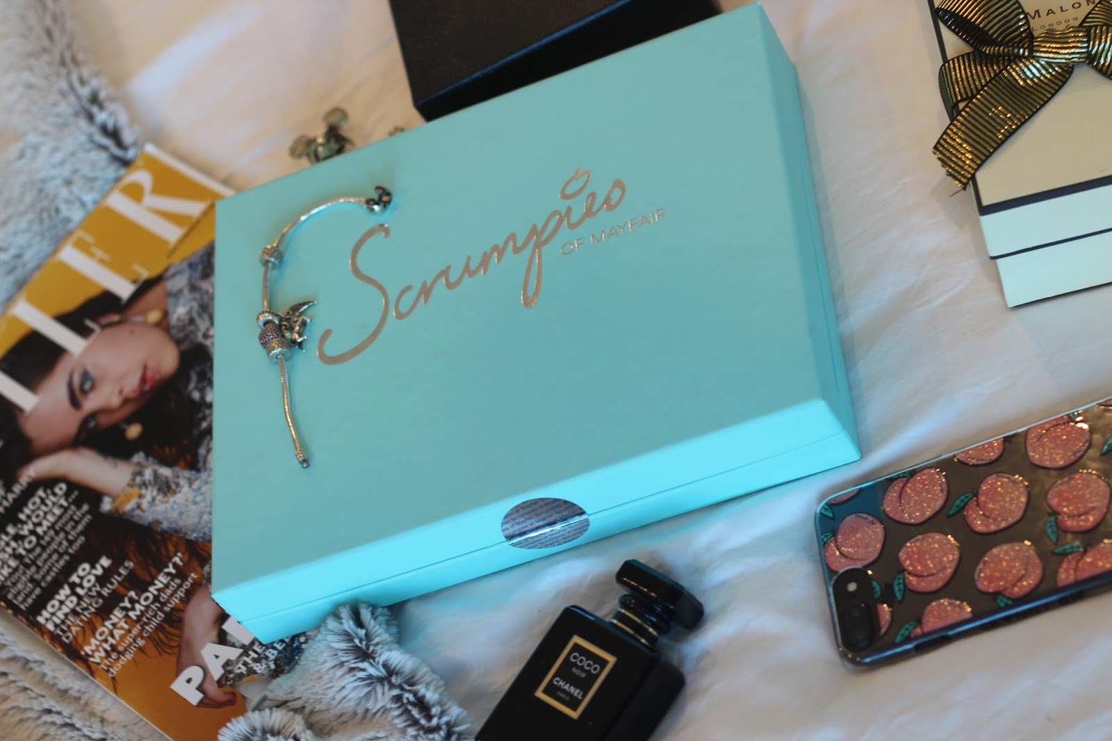 Fashion blogger Lucy Love styles Scrumpies of Mayfair