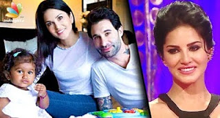 Sunny Leone becomes a mom in REAL LIFE! | Hot Tamil Cinema News, Daniel Weber daughter