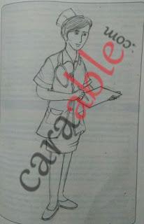 Contoh gambar terbaik untuk Tes Psikotes Menggambar Orang Beraktivitas / Draw a Person (DAP) Test beserta pembahasannya