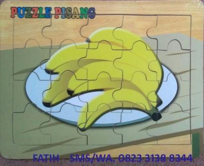 Puzzle Kayu Murah Pisang