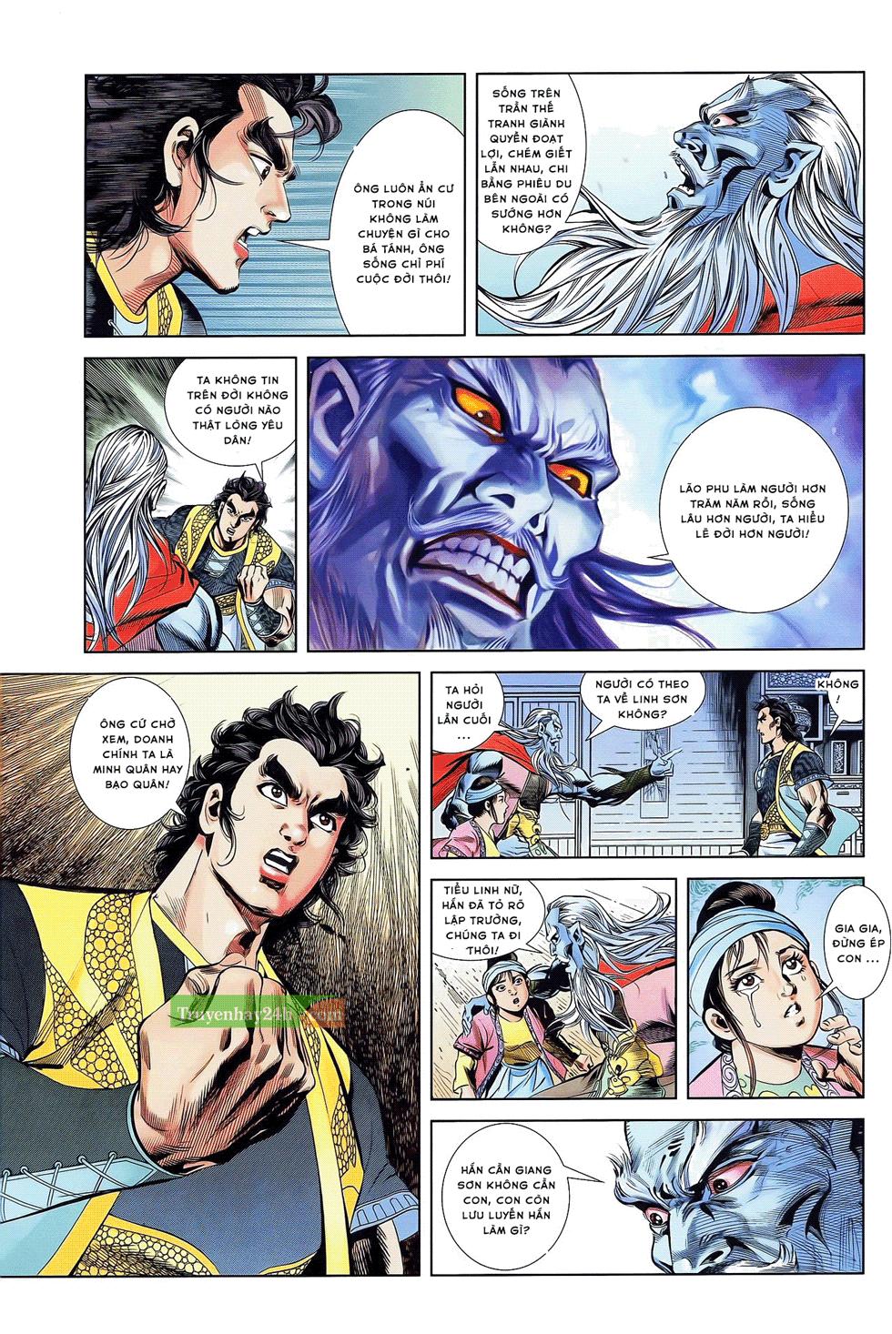 Tần Vương Doanh Chính chapter 21 trang 23