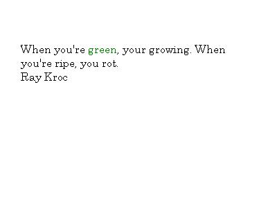 Green Color Quotes and Sayings