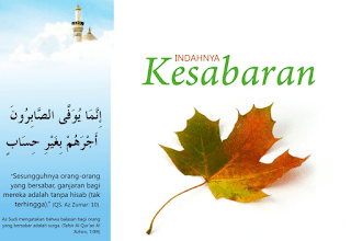 kata bijak ihwal kesabaran dan keikhlasan Kata Bijak Islami Tentang Kesabaran