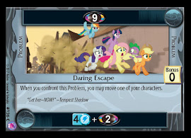 My Little Pony Daring Escape Seaquestria and Beyond CCG Card