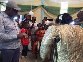 NIGERIAN PARALYMPIC GOLD MEDALIST, PRECIOUS ORJI WEDS IN GOVERNMENT HOUSE OWERRI (BEAUTIFUL PHOTOS)