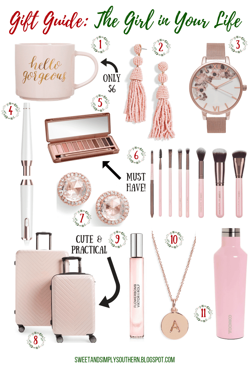 gift guide for the girl in your life