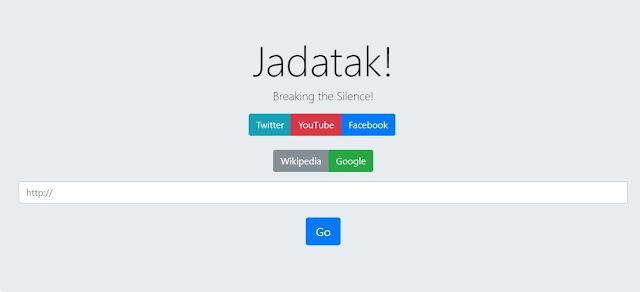 مواقعك جدتك , هو موقع يمكنك من الدخول الى اي موقع محجوب في منطقتك بسهولة ونقرة واحدة ومجانا jadatakka