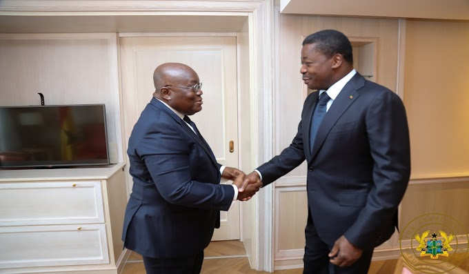 """Sustain Progress Made Through Dialogue"" – President Akufo-Addo Urges Togo's Political Actors"