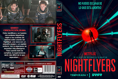 CARATULA NIGHTFLYERS TEMPORADA 1 2018 [COVER DVD]